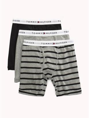 Tommy Hilfiger Cotton Classics Stripe Boxer Brief 3PK