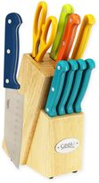 Ginsu Essential Multicolor 10-Piece Cutlery Set with Steak Knives in Turquoise