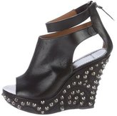 Givenchy Stud-Embellished Wedge Sandals