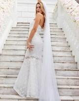 Lipsy Bridal Ava Lace Bandeau Maxi Dress