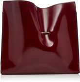 Khaore Cabinet Patent Leather Clutch