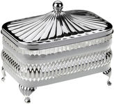 Corbell Silver Company Inc. Silver-Plated Oblong Butter Dish