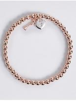 M&S Collection Heart & Key Bracelet