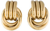 Givenchy Twist Clip-On Earrings