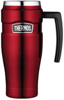 Thermos NEW Stainless King Vacuum Insulated Travel Mug, 470ml - Red