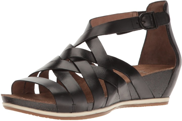 Dansko New Vivian Graphite Vintage 41/10.5-11 Womens Shoes