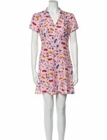 Thumbnail for your product : HVN Silk Mini Dress Pink