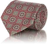 Fairfax Men's Medallion-Print Silk Twill Necktie