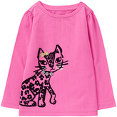 Gymboree Pink Leopard Graphic Tee - Infant & Toddler