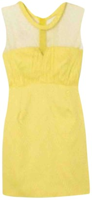 The Kooples Yellow Lace Dress for Women