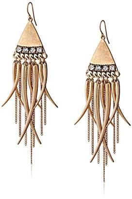 Sam Edelman Fringe Chandelier Earrings