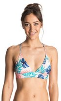 Roxy Women's Dry Wind Strappy Fixed Tri Bikini Top