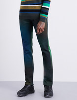 Kenzo Multicoloured slim-fit straight jeans