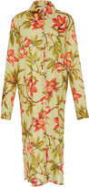 Lenny Niemeyer Rustic Button-Down Shirt Dress