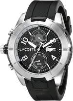 Lacoste Men's 2010759 Tonga Silver-Tone Watch with Band