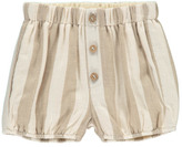 Sale - Stroped Full Shorts Ecru - Rylee + Cru