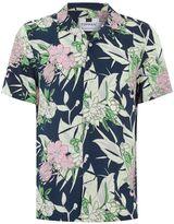 Topman Short Sleeve Meadow Floral Shirt