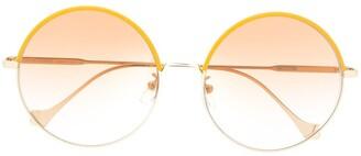 Loewe round oversized lenses