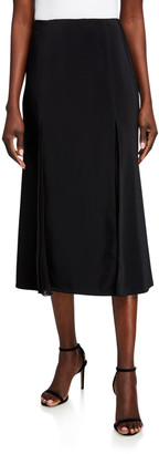 Jason Wu Collection Crepe Fit & Flare Skirt