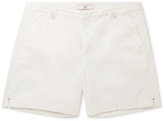 Orlebar Brown + 007 For Your Eyes Only Cotton And Linen-Blend Twill Shorts