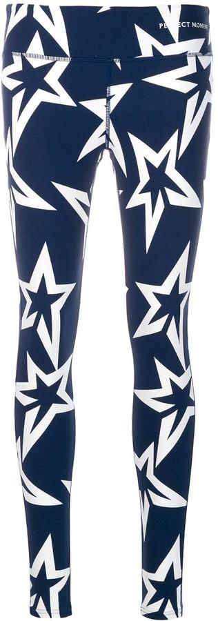 Perfect Moment Starlight low rise leggings