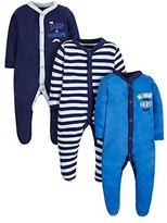 Mothercare Baby 3 Pack Mummy & Daddy Sleepsuit