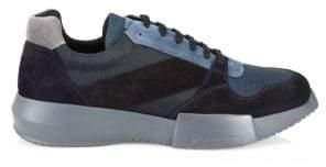 Giorgio Armani Patchwork Sneakers