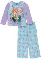"Disney Frozen Little Girls' Toddler ""Flower Magic"" 2-Piece Pajamas"