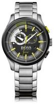 HUGO BOSS 1513336 Yachting Chronograph Stainless Steel Watch One Size Assorted-Pre-Pack