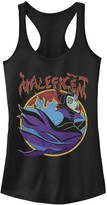 Disney Juniors' Disney's Sleeping Beauty Maleficent Vintage Flame Portrait Tank Top