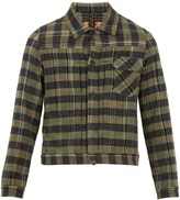 Missoni Point-collar checked cashmere jacket