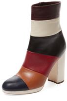 Valentino Garavani Colorblock Leather Bootie