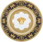 Versace I Love Baroque Plate - 18cm - Black