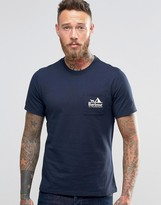 Barbour T-shirt With All Weather Brand Pocket In Navy