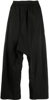 MM6 MAISON MARGIELA Cropped High-Waisted Harem Trousers
