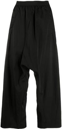 MM6 MAISON MARGIELA Cropped High-Waisted Harem Trousers