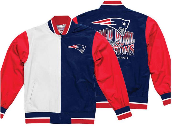 1fa5662d Men New England Patriots Team History Warm Up Jacket 2