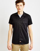 Dickies Short Sleeve Slim Shirt Black