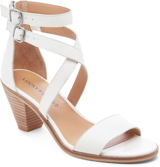 Lucky Brand Ressia Double Ankle Strap Sandal