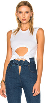 Y Project Cropper Sleeveless Tee