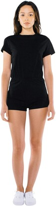 American Apparel Women's Fine Jersey Short Sleeve T-Shirt Romper