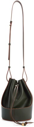 Loewe Small Balloon Leather Bucket Bag