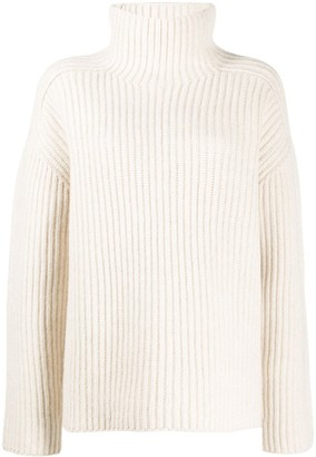 Acne Studios Ribbed High Neck Jumper