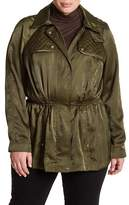Vince Camuto Hooded Anorak (Plus Size)
