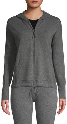 Amicale Zip-Up Cashmere Hoodie