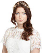 Jennifer Behr Our Alice Crystal Bee Tiara, Gold
