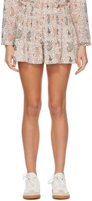 Etoile Isabel Marant Beige Ayowel Shorts