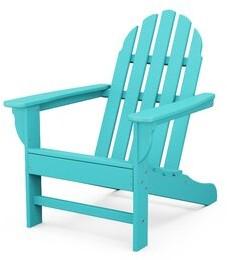 Sol 72 Outdoor Traditional Plastic Adirondack Chair Frame Color: Aruba