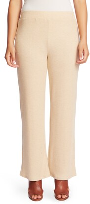 Chaus Ribbed Brushed Jersey Pull-On Pants