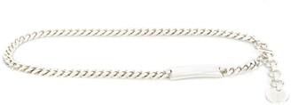 Gianfranco Ferré Pre-Owned Plaque Detail Chain Belt